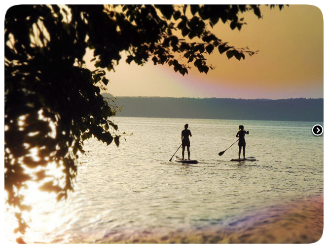 Stand_Up_Paddling auf dem Starnberger See