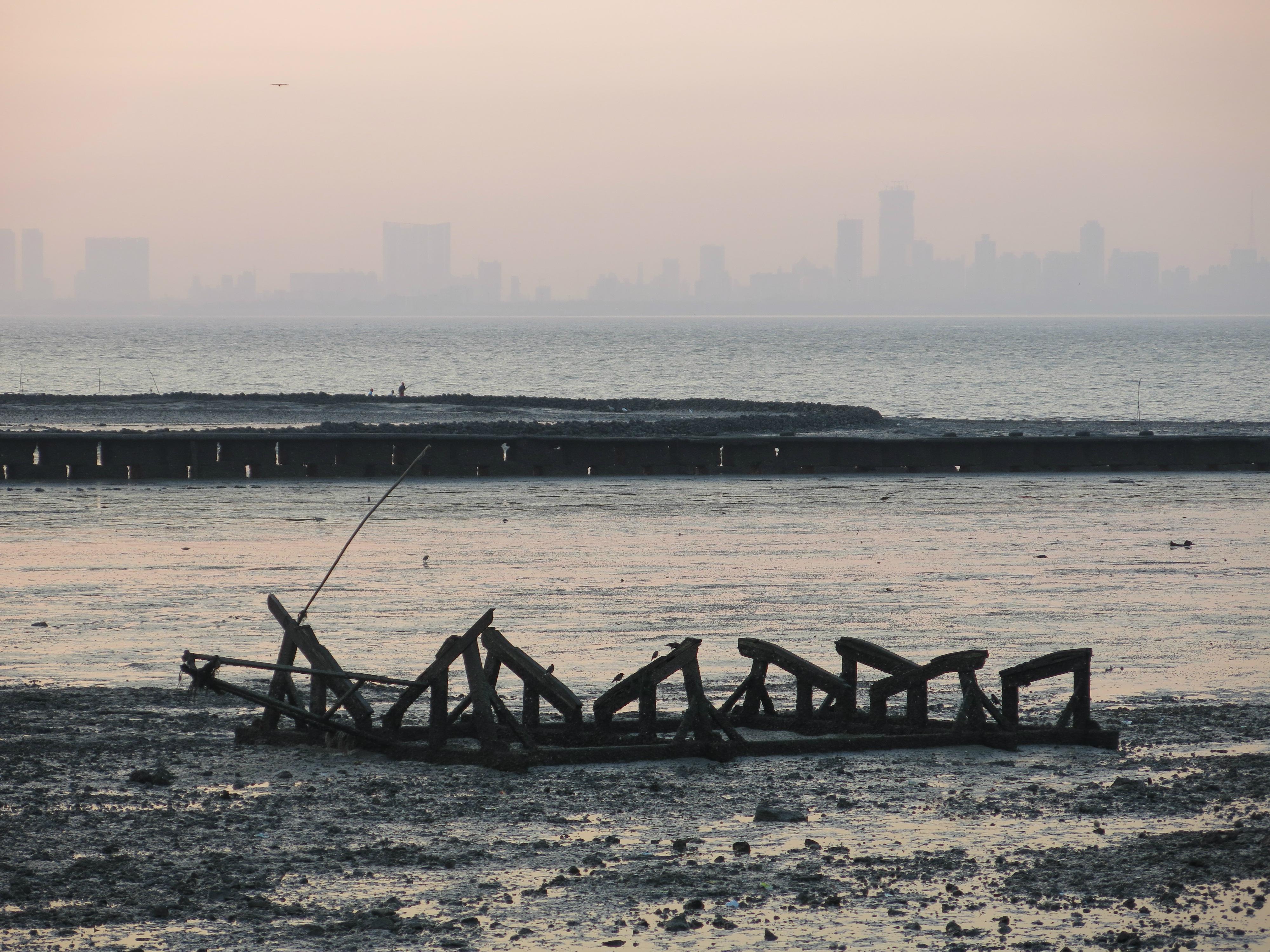 Smoggy Mumbai