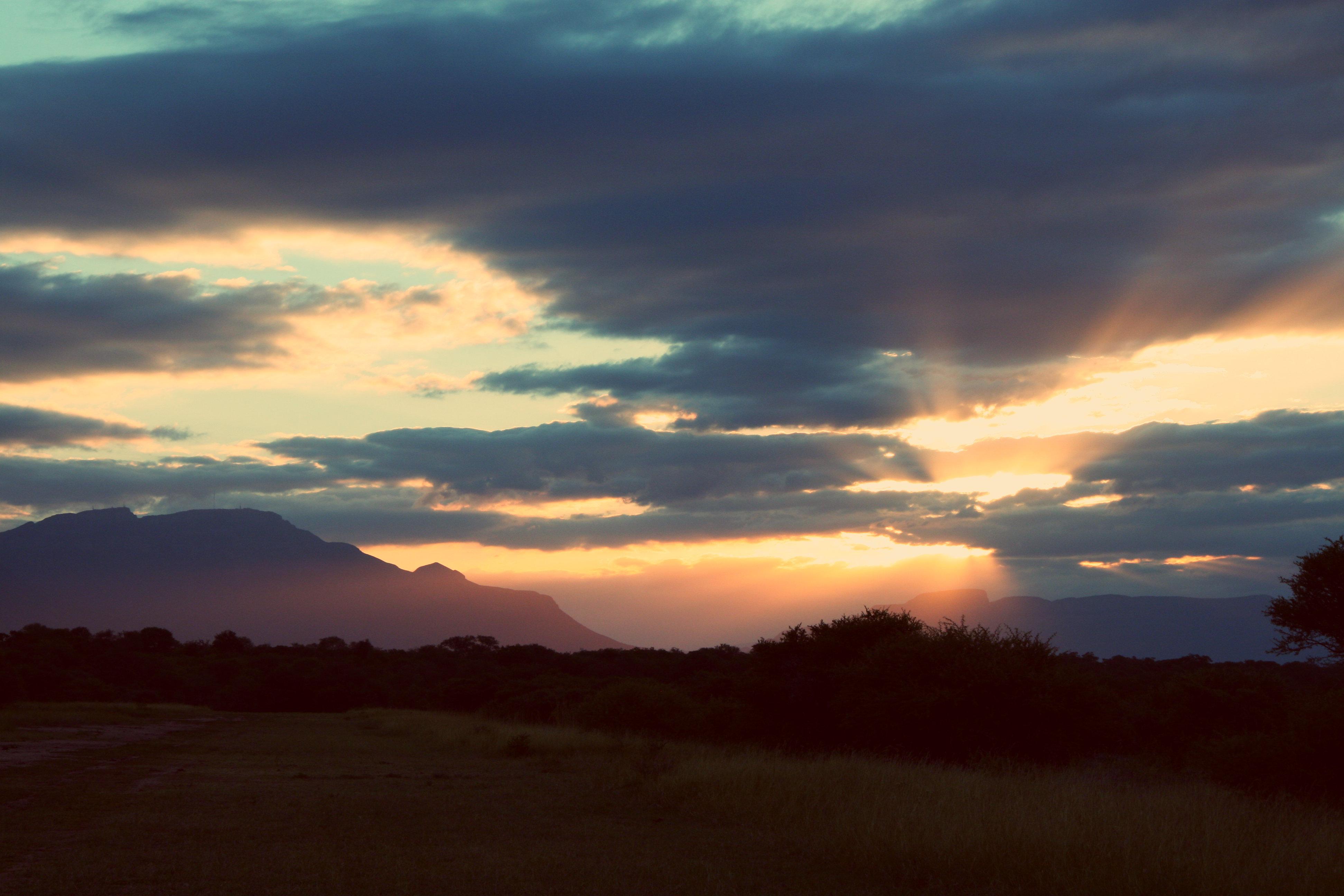 Afrika-Sunset