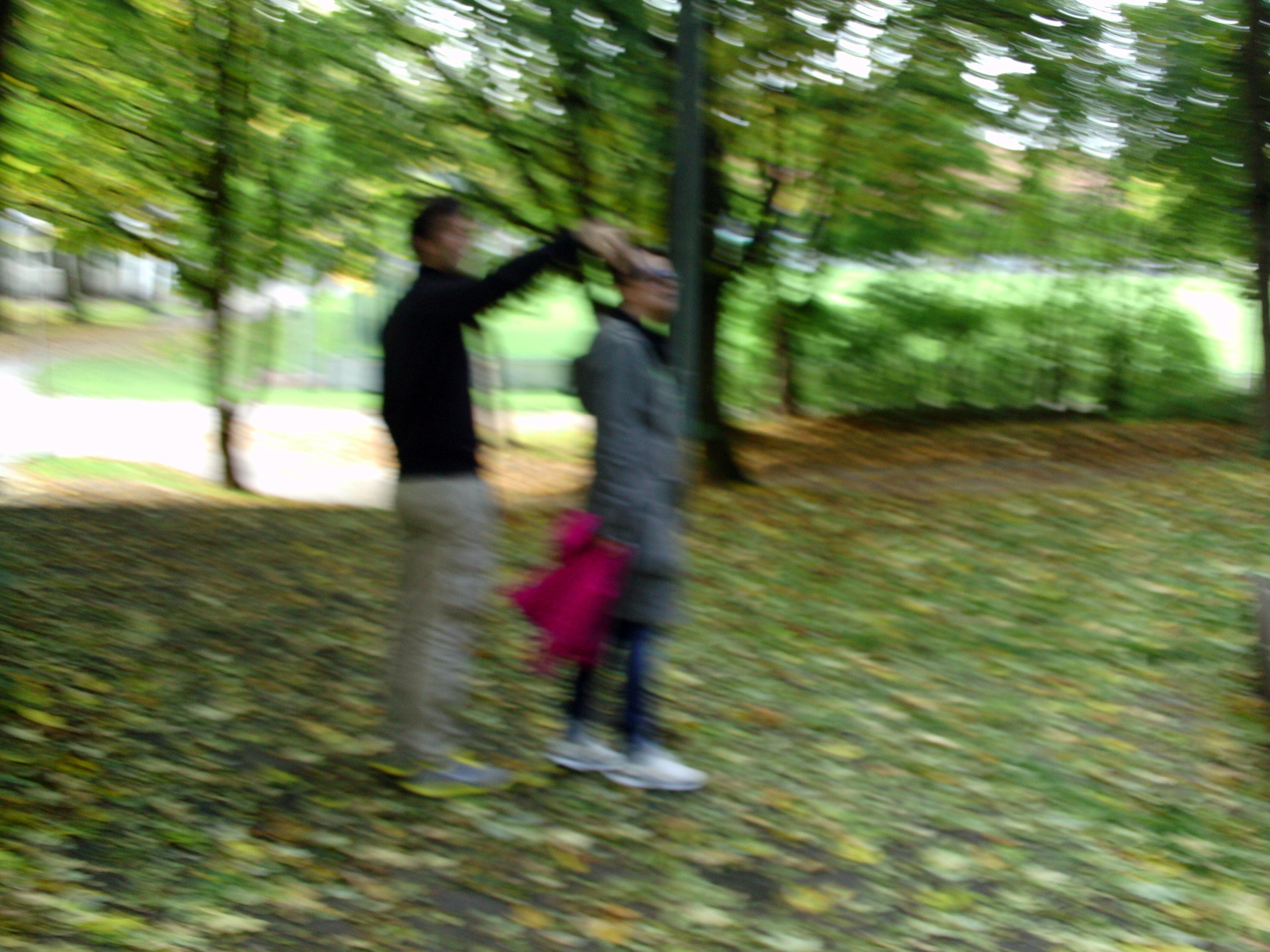 Herbstspaziergang mit Mom & Dad