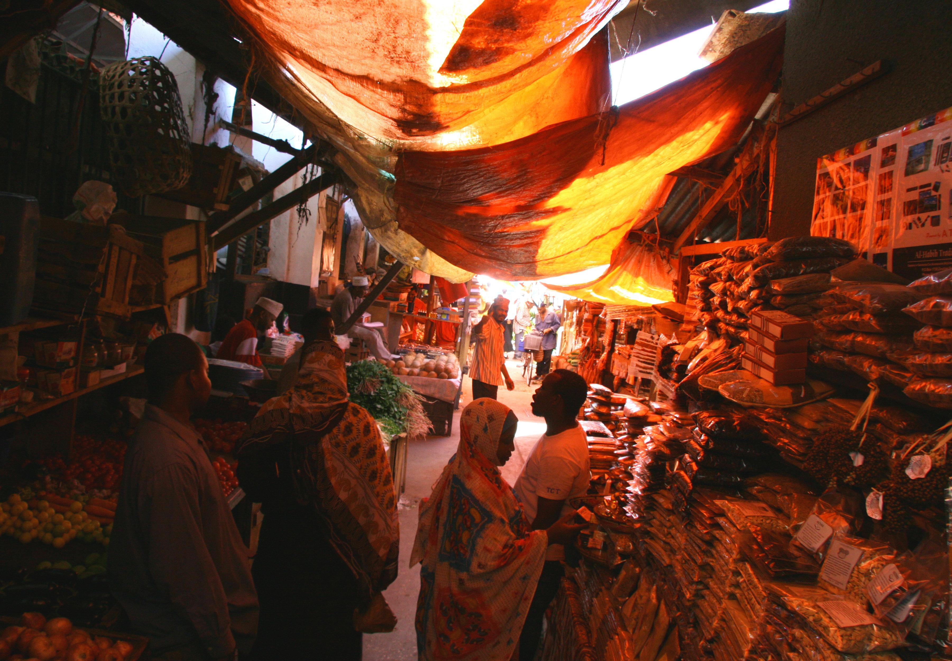 Stone Town Bazaar
