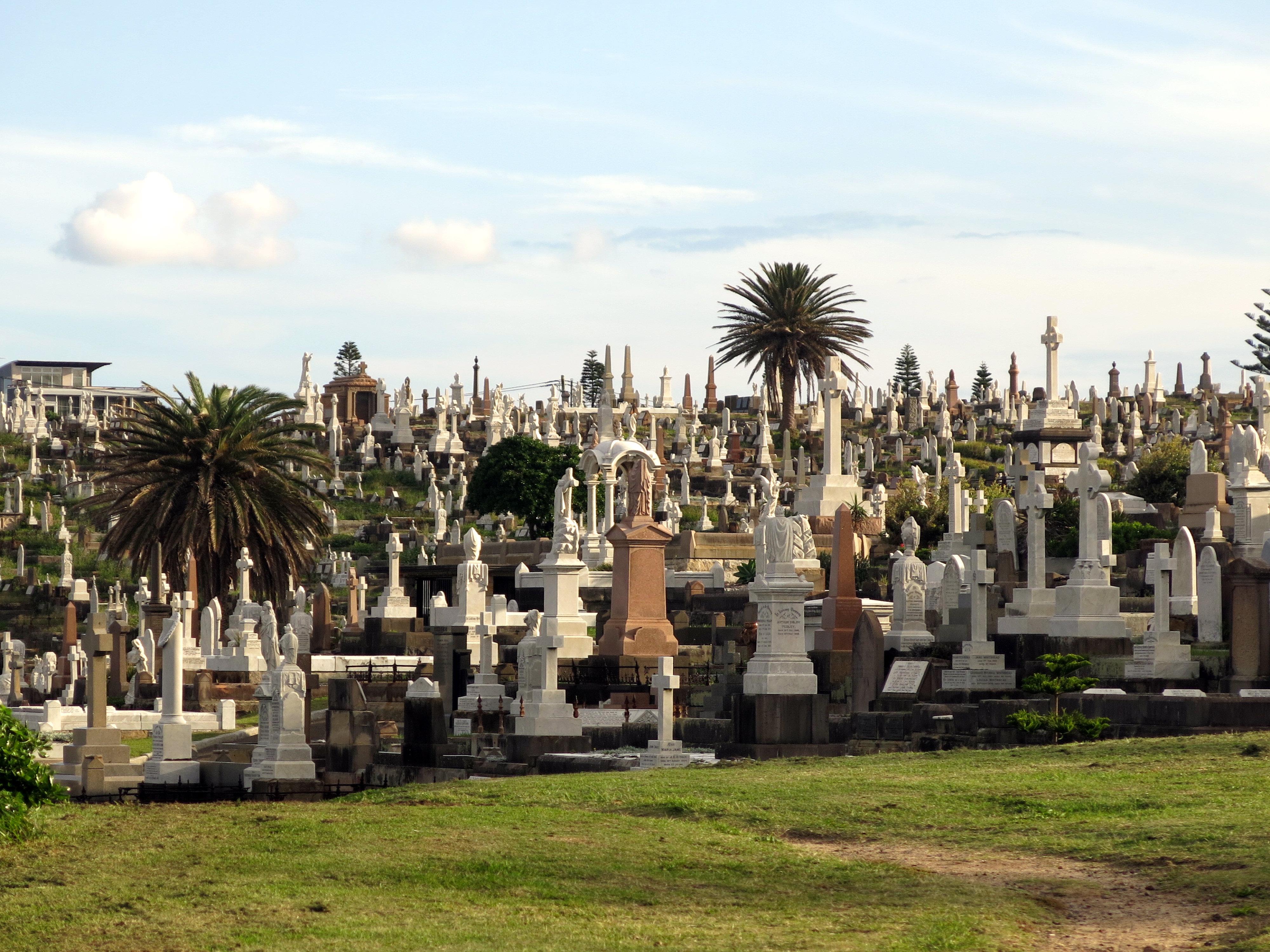 Australien_Bronte-Cementary