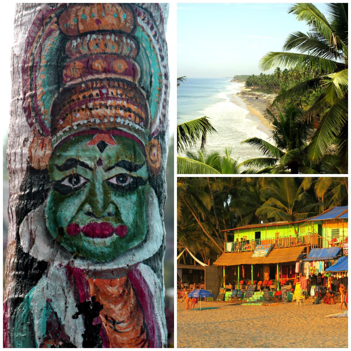Farben-Indiens-Beach