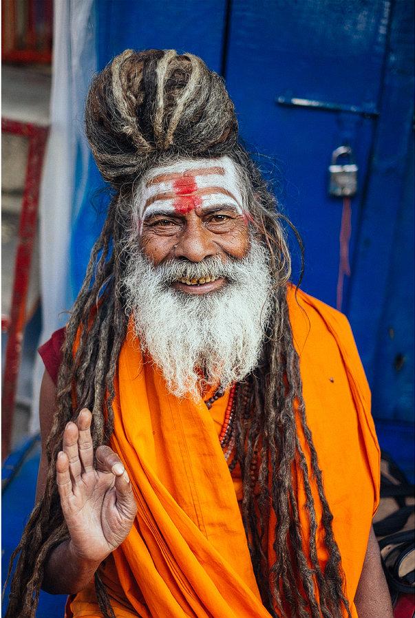 Farben-Indiens-Saduh