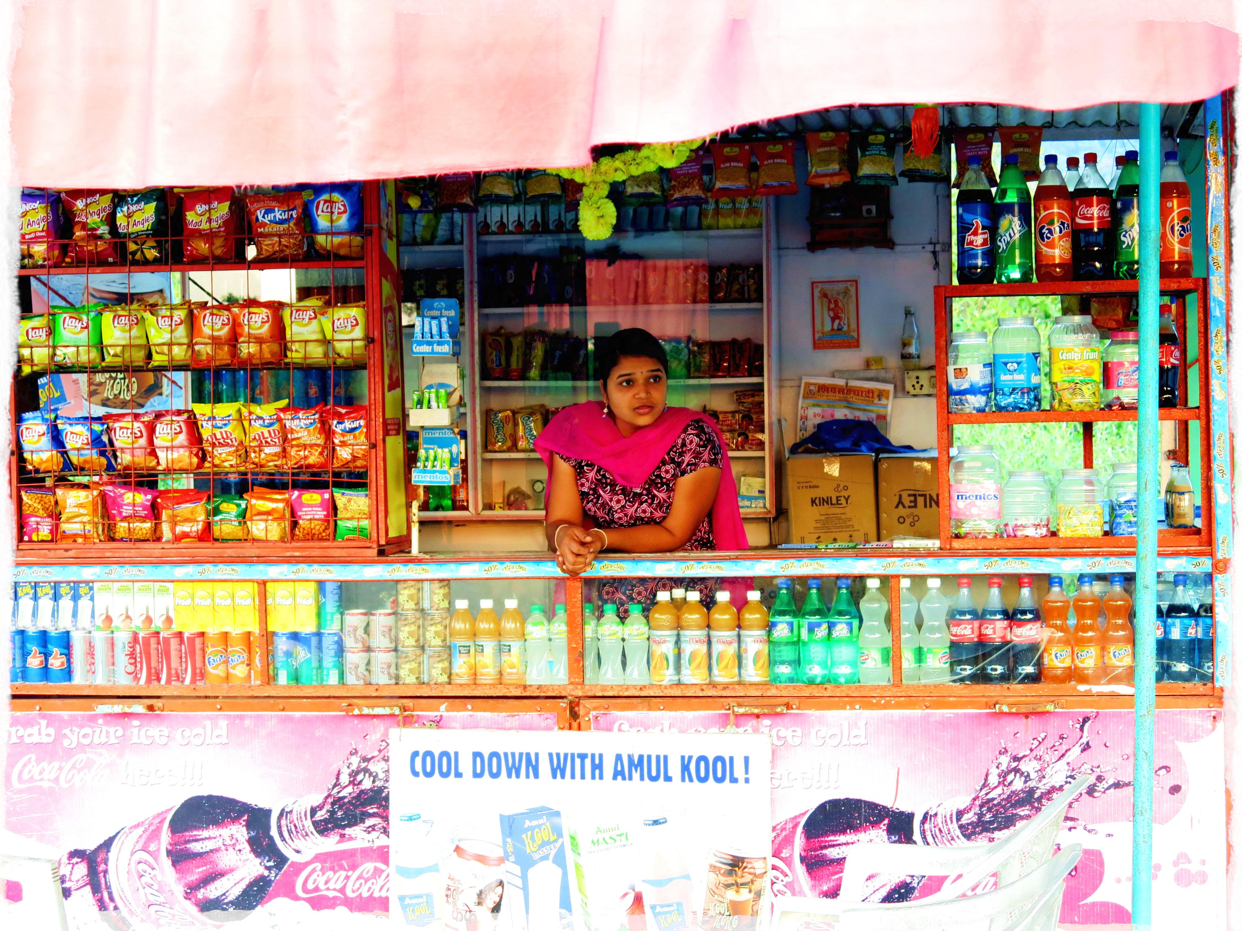 Mumbai-Verkäufer