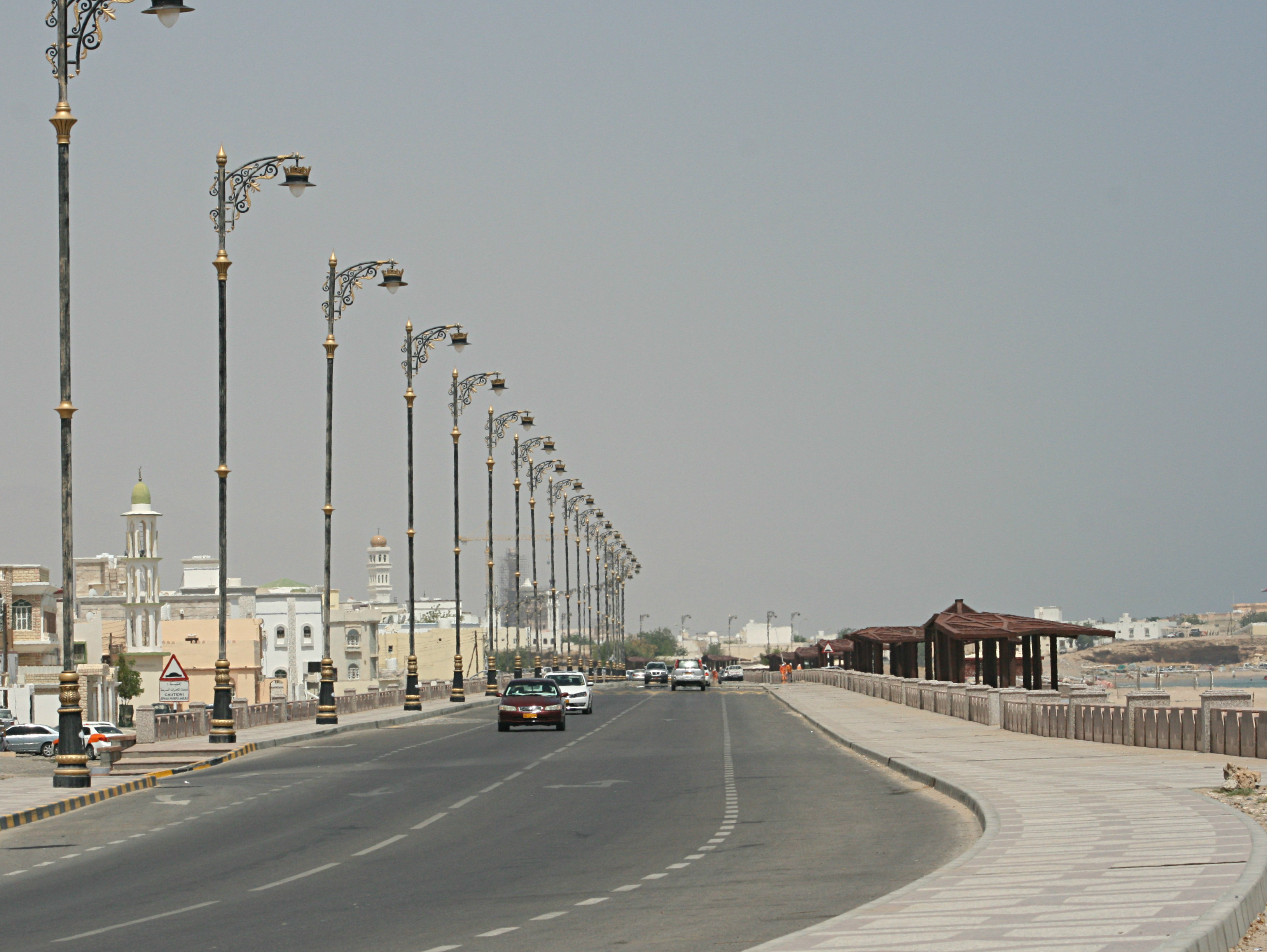 Straßenbeleuchtung Oman