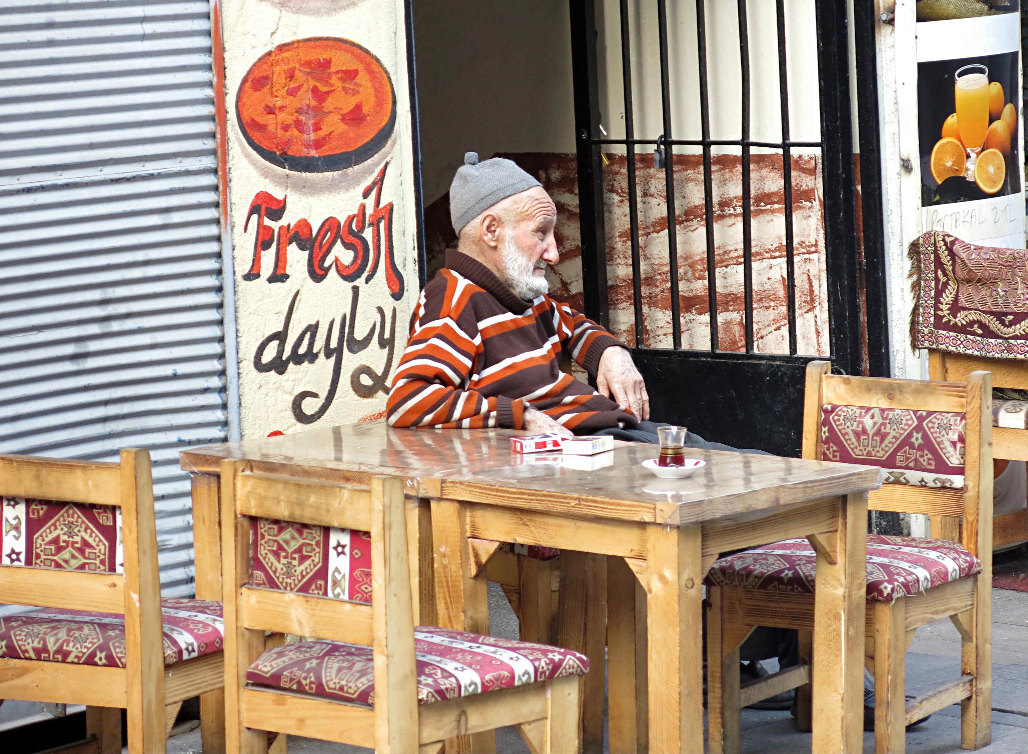 Istanbul-Fathi-alter-Mann