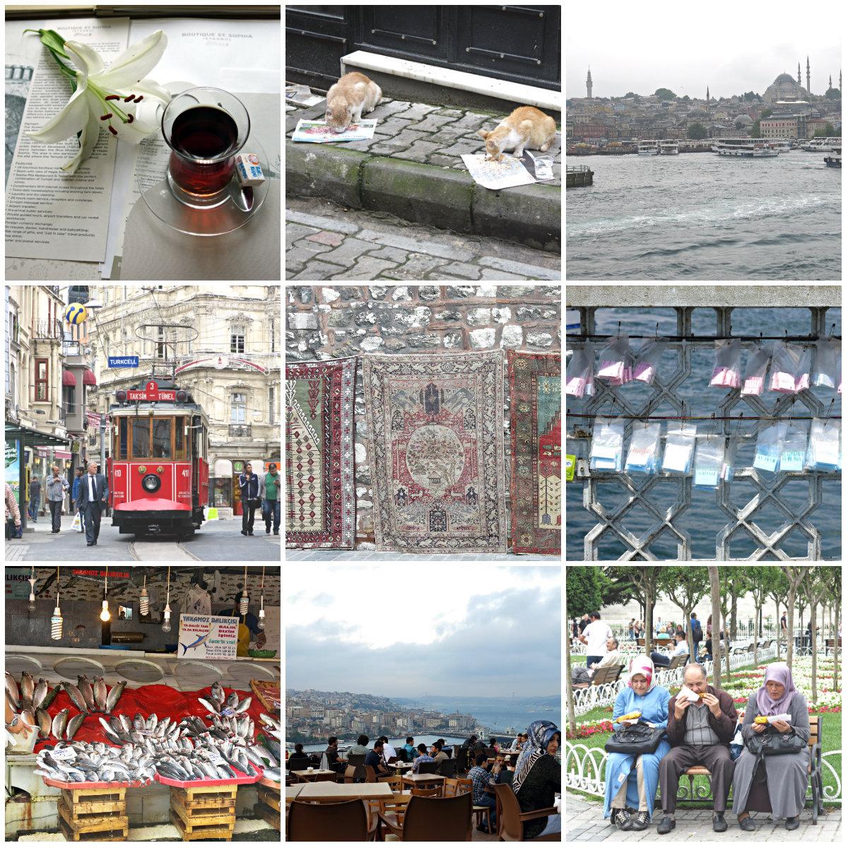 Istanbul-Kollage