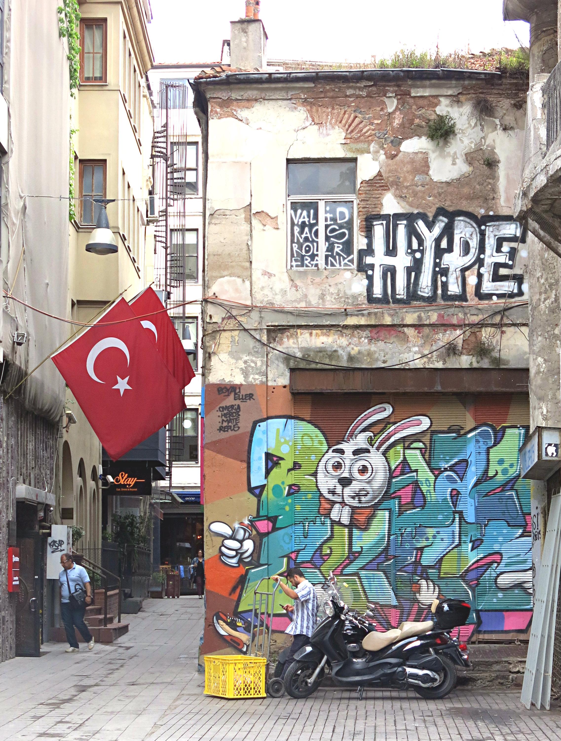 Istanbul-Streetart
