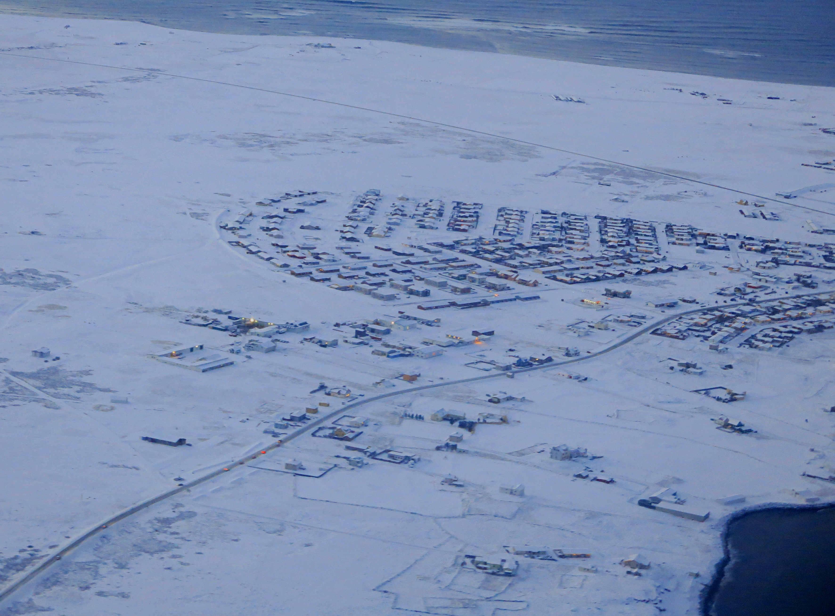 Island von oben Landeanflug