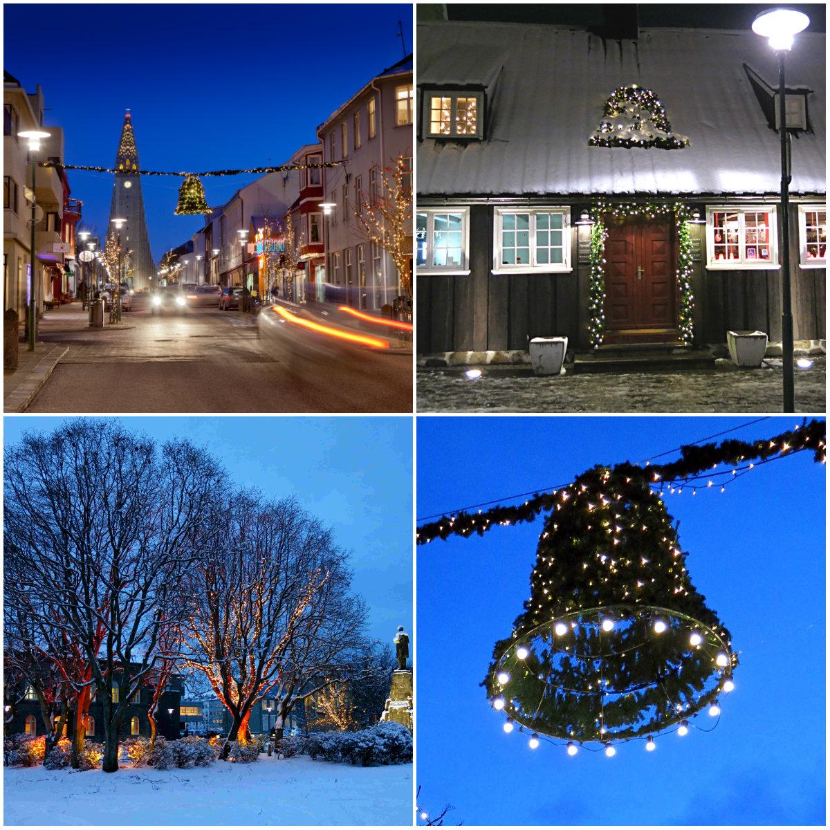 Reykjavik-Weihnachten-Kollage
