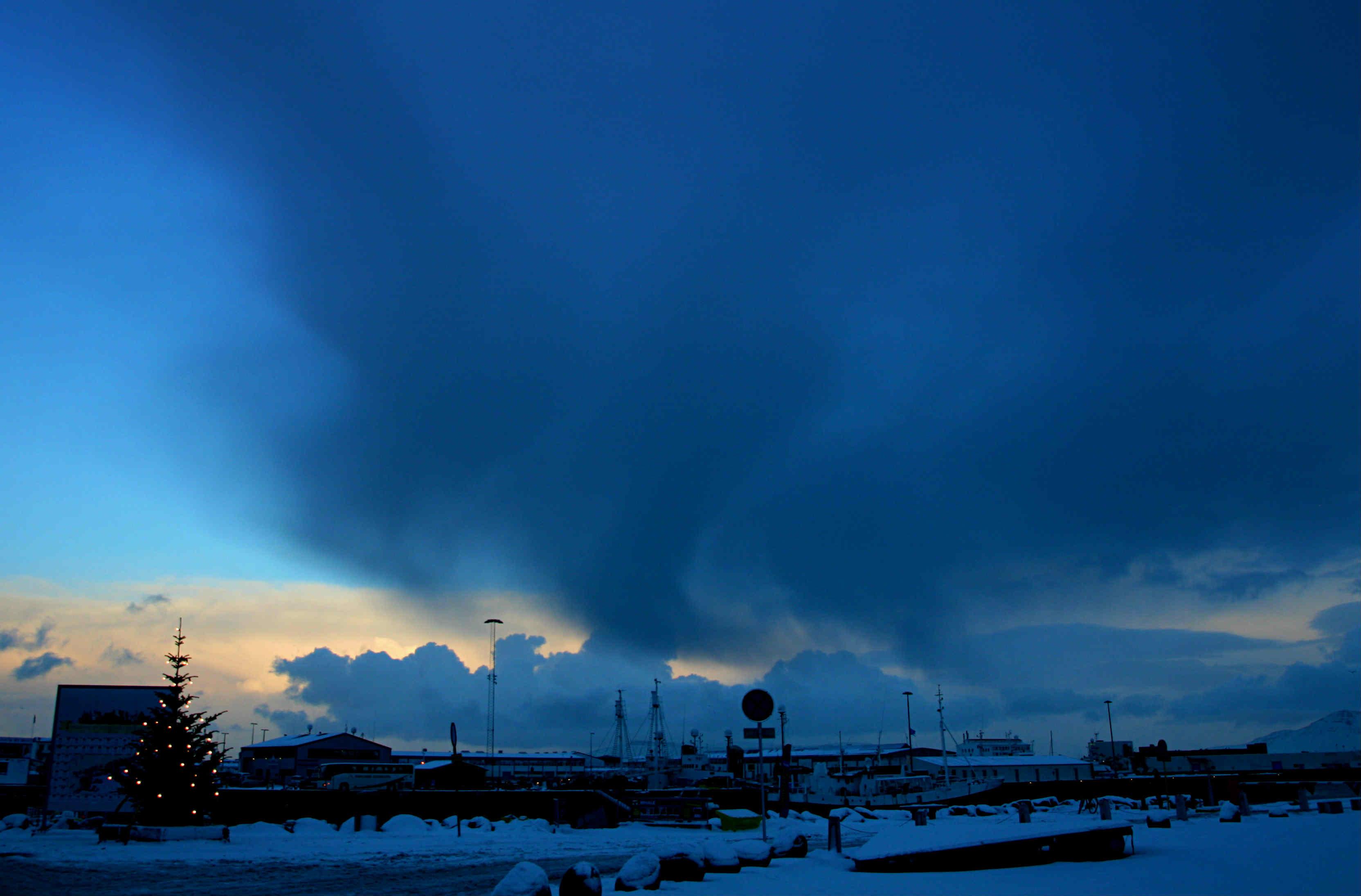 Reykjavik-Winter