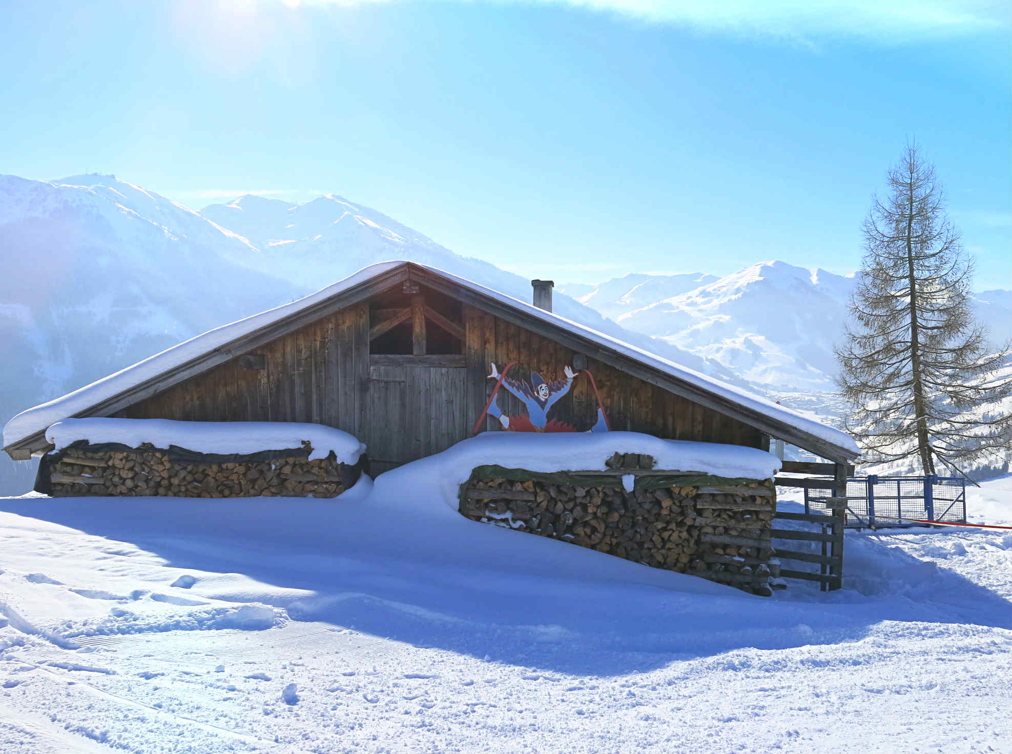 Skifahren-Leogang