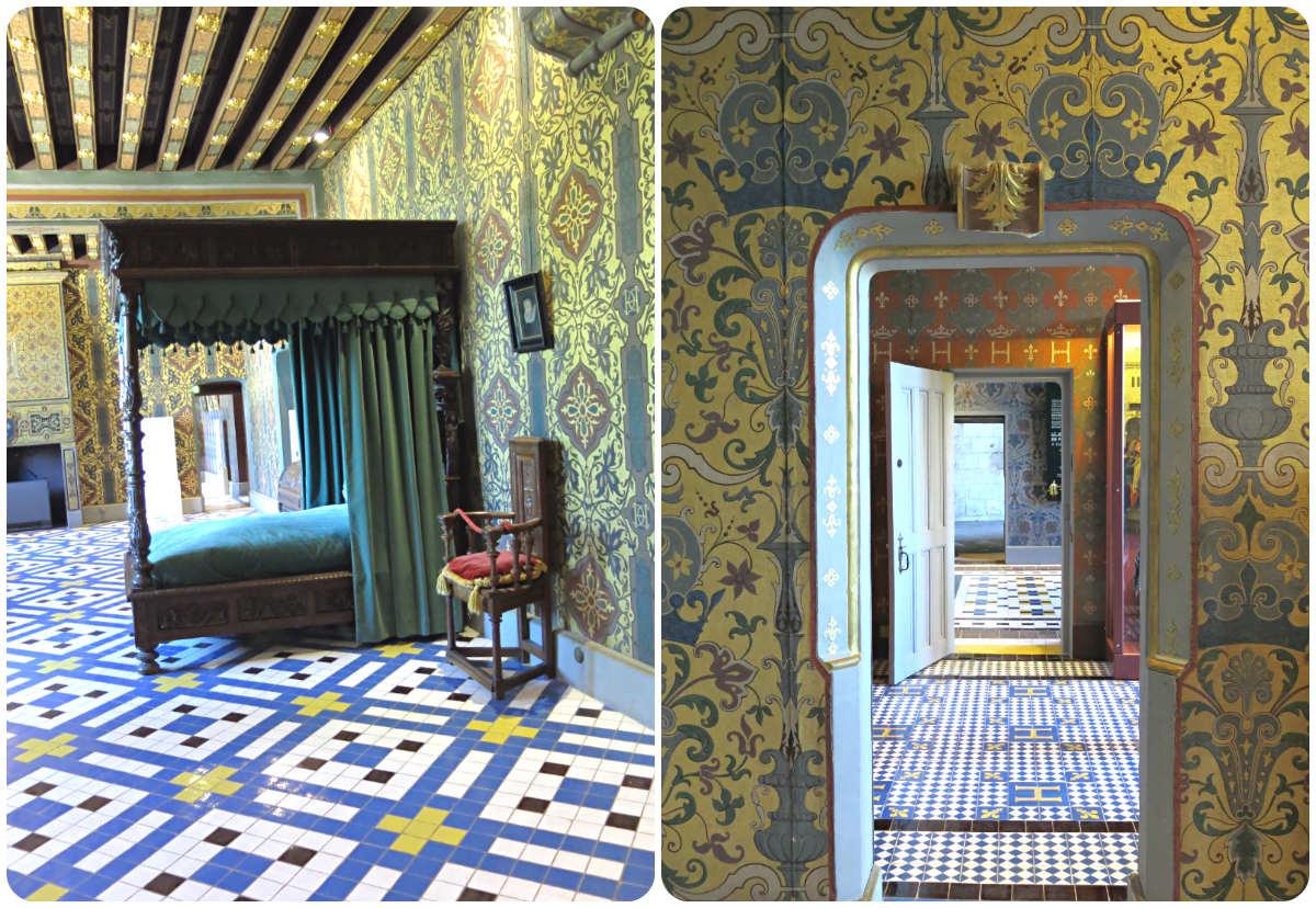 Blois-Loireschloss-Innen