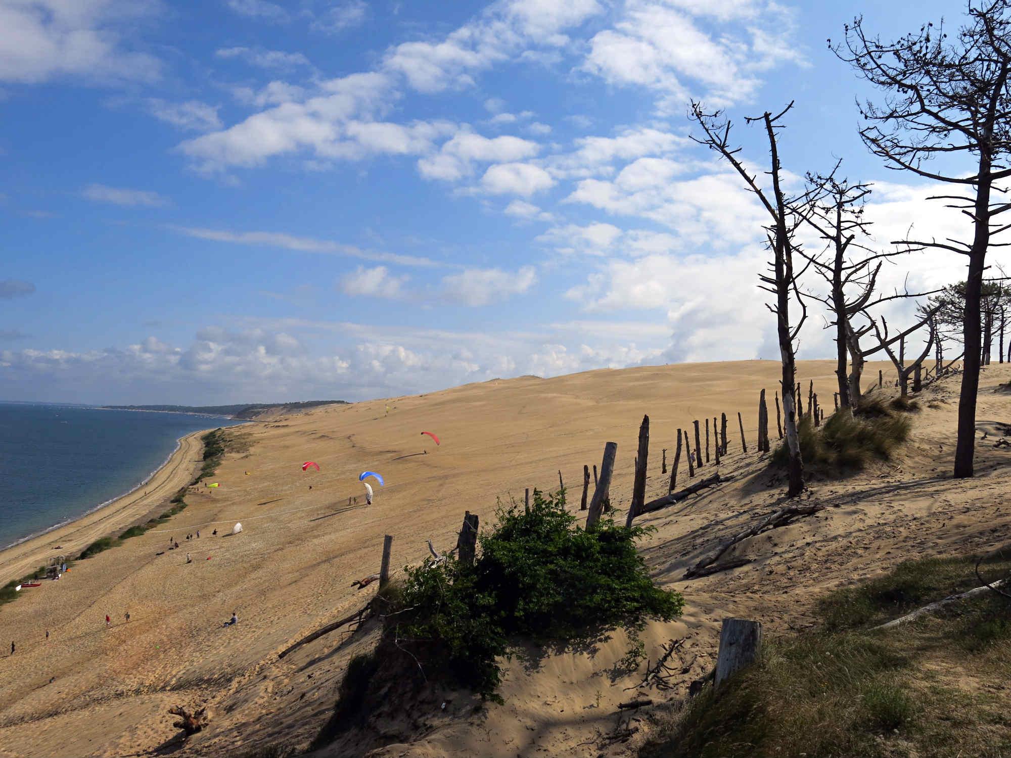 Dune-Pilat-Paraglider