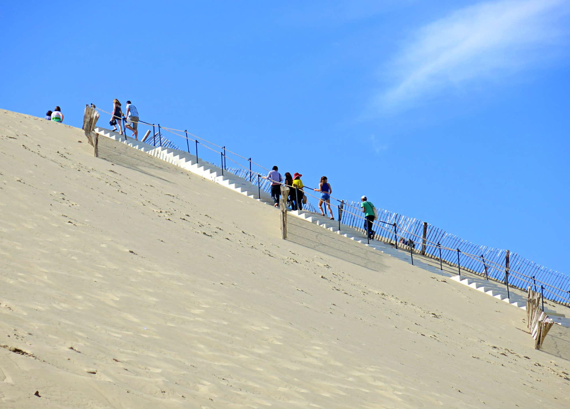 Dune Pilat-Stairs