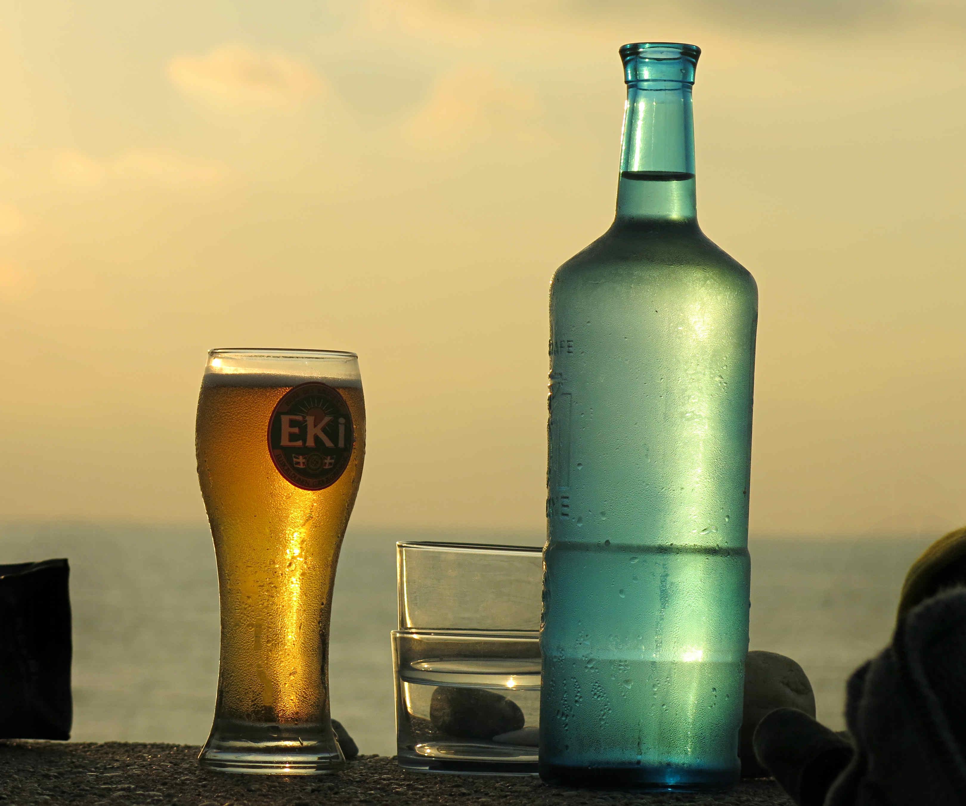 Wein-Wasser-Bier