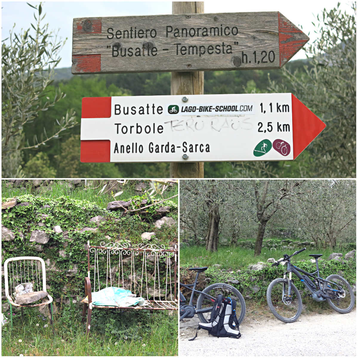 Gardasee-Mountainbiken-Collage-Arco