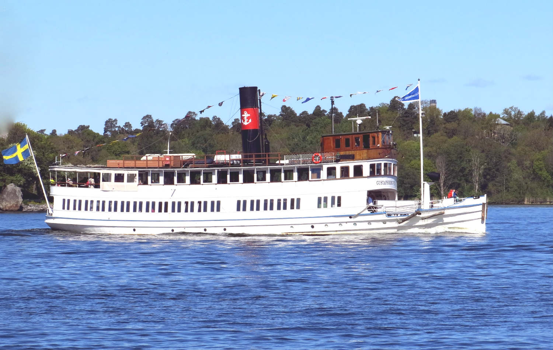 Stockholm_Schären-Dampschiff