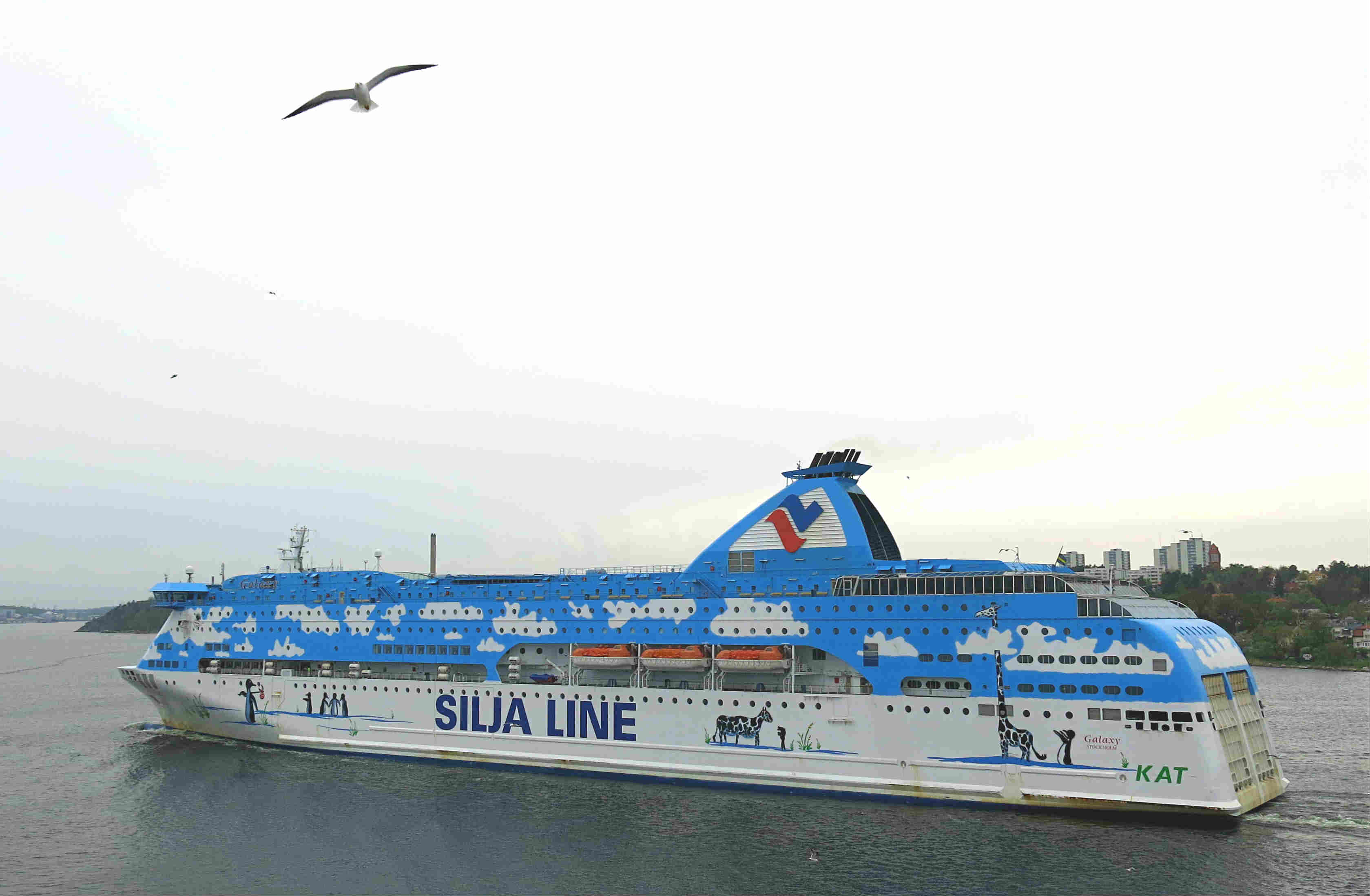 Citycruise Stockholm-Tallinn-Tallink Silja