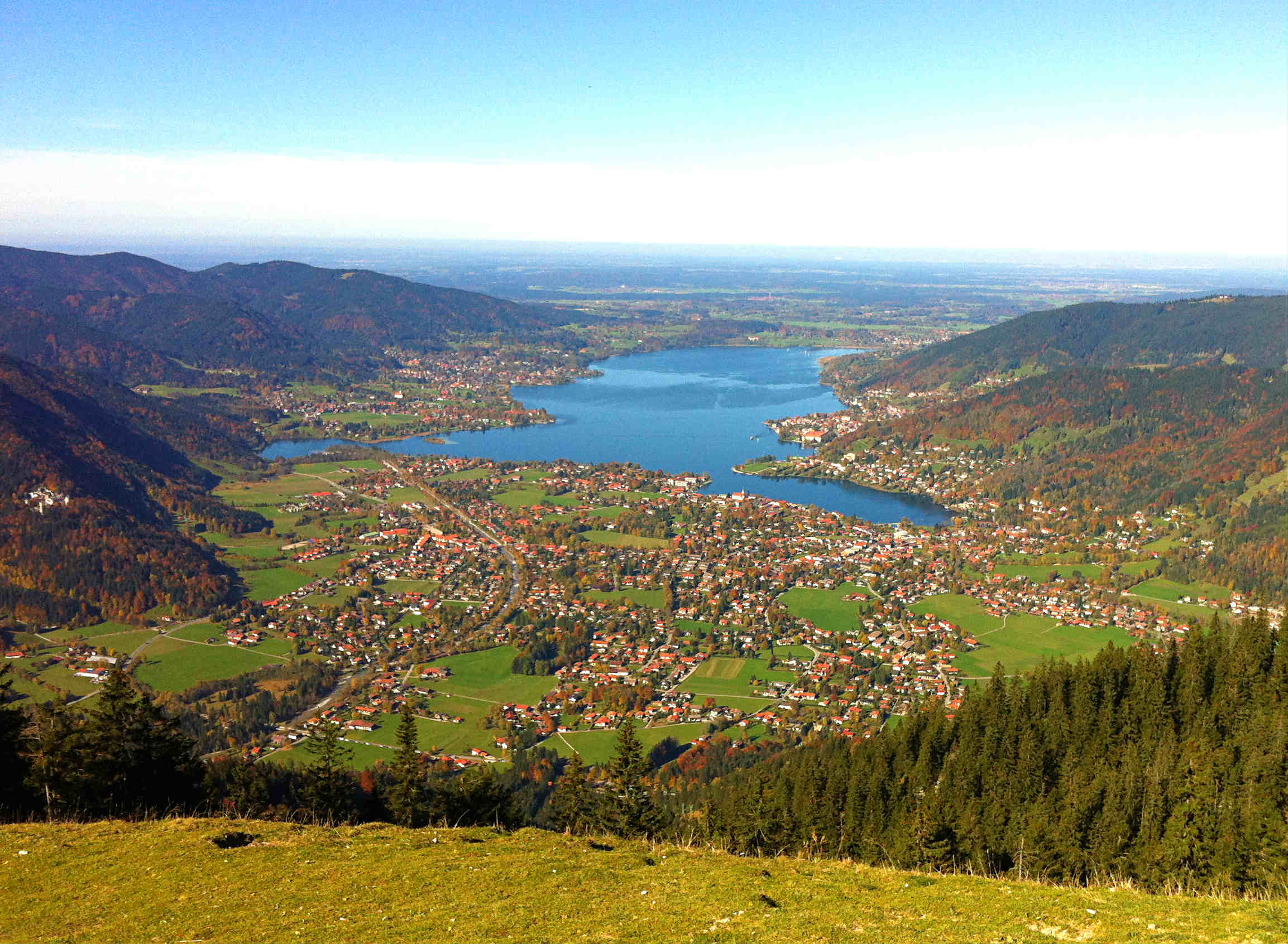 tegernsee-Blick-Wallberg