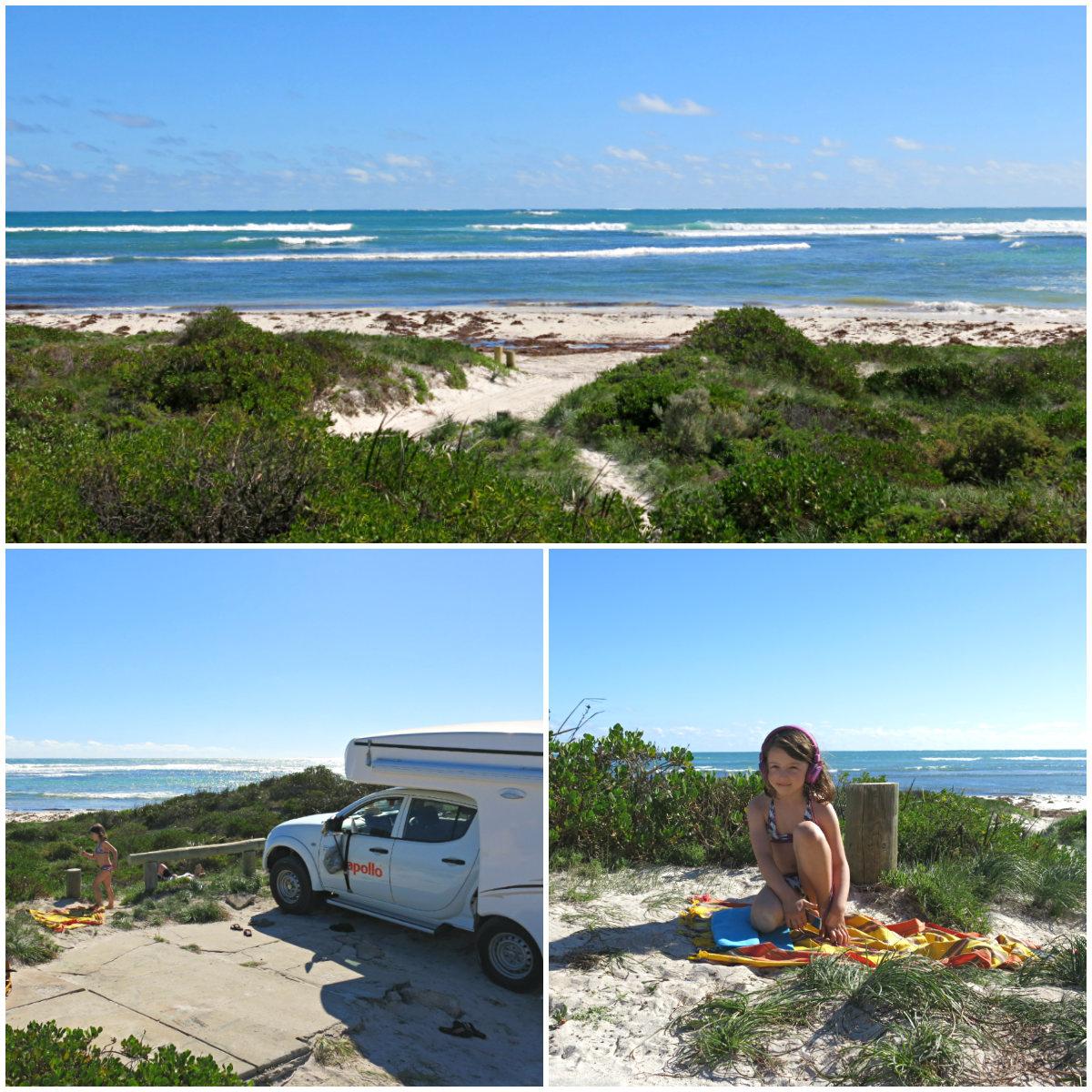Australien-Westküste-Beach