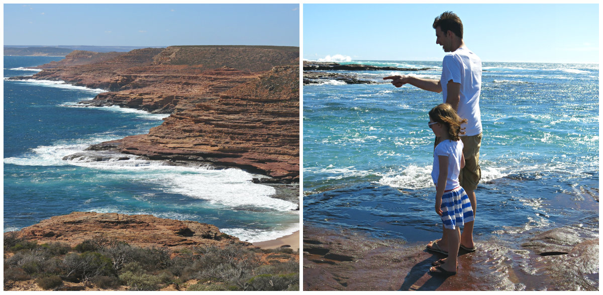 Westaustralien-Kalbarri-Küste