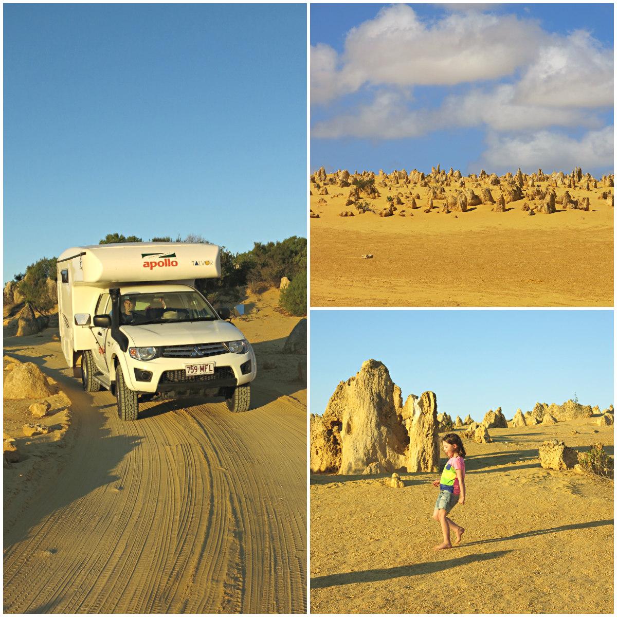 Westküste-Australien-Naumburg-Pinacle-Deserts-Kollage