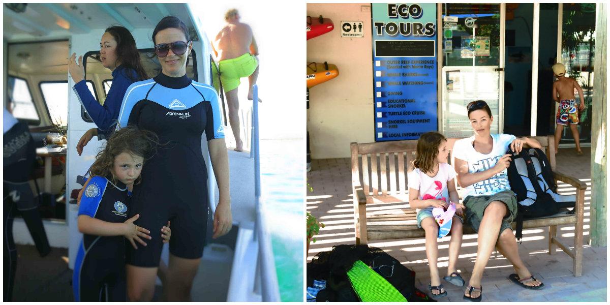 collage-Australien-Westen-Ningaloo-Reef-Schnorcheln