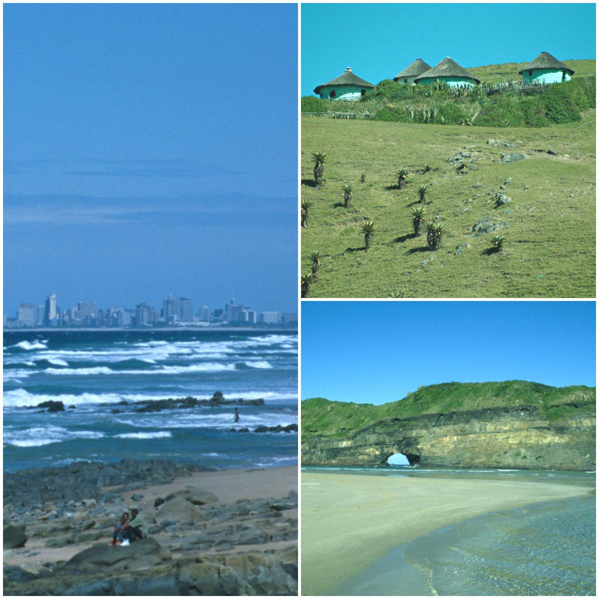 Kollage-Südafrika-Transkei-Durban