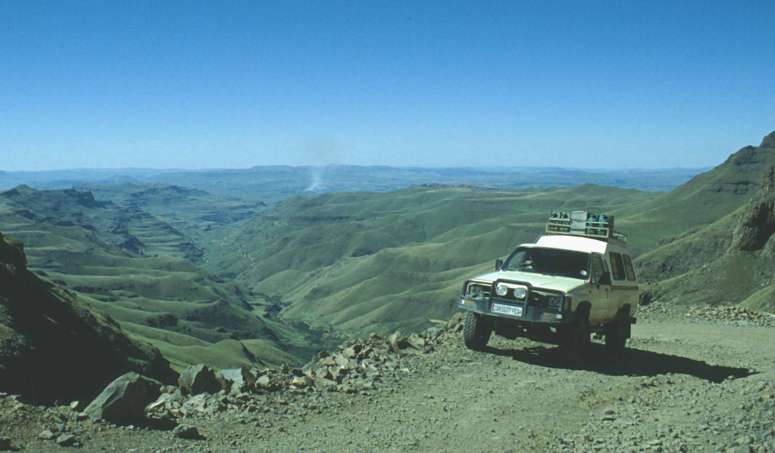 Lesotho-Sani-Pass