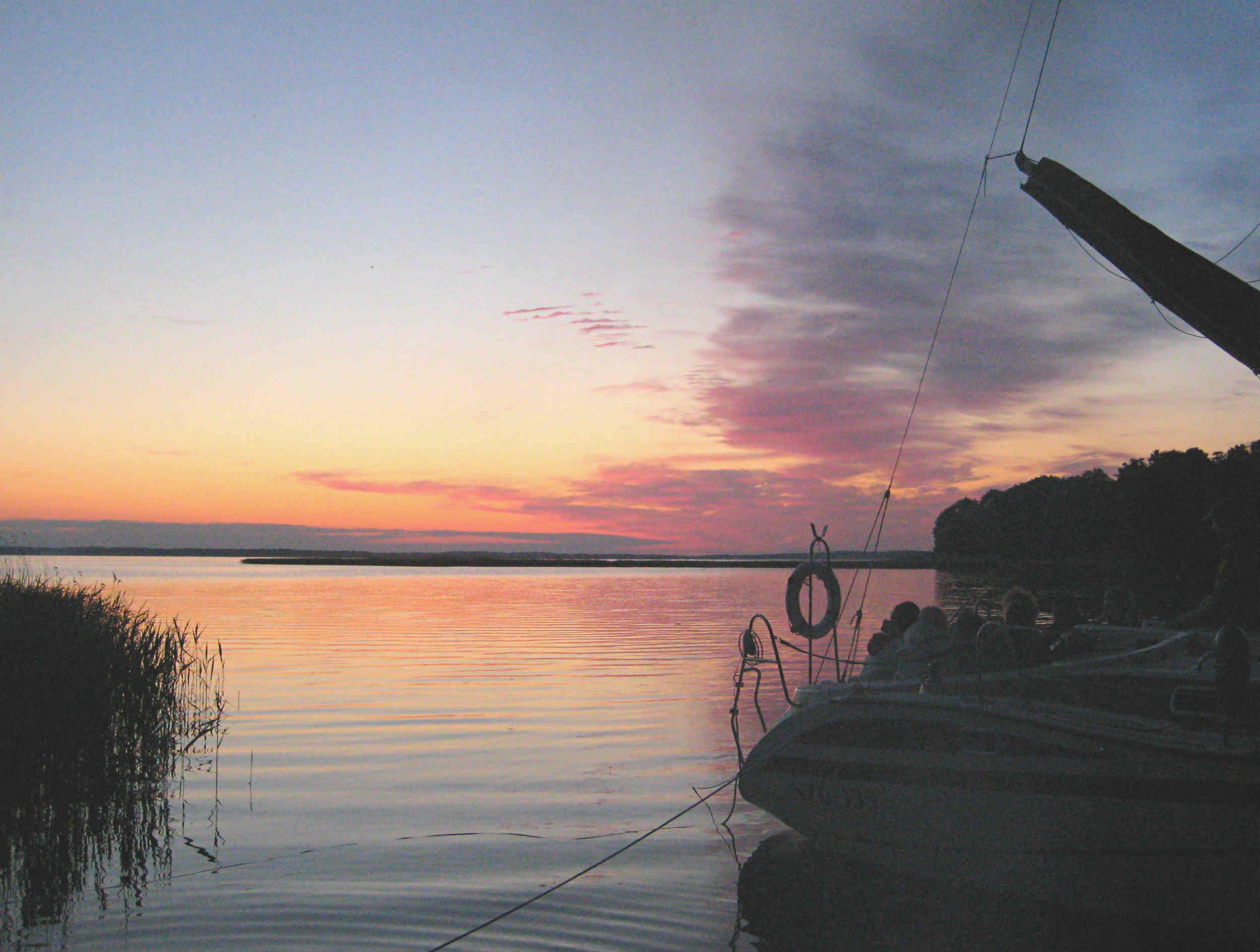 Masuren-Sonnenuntergang