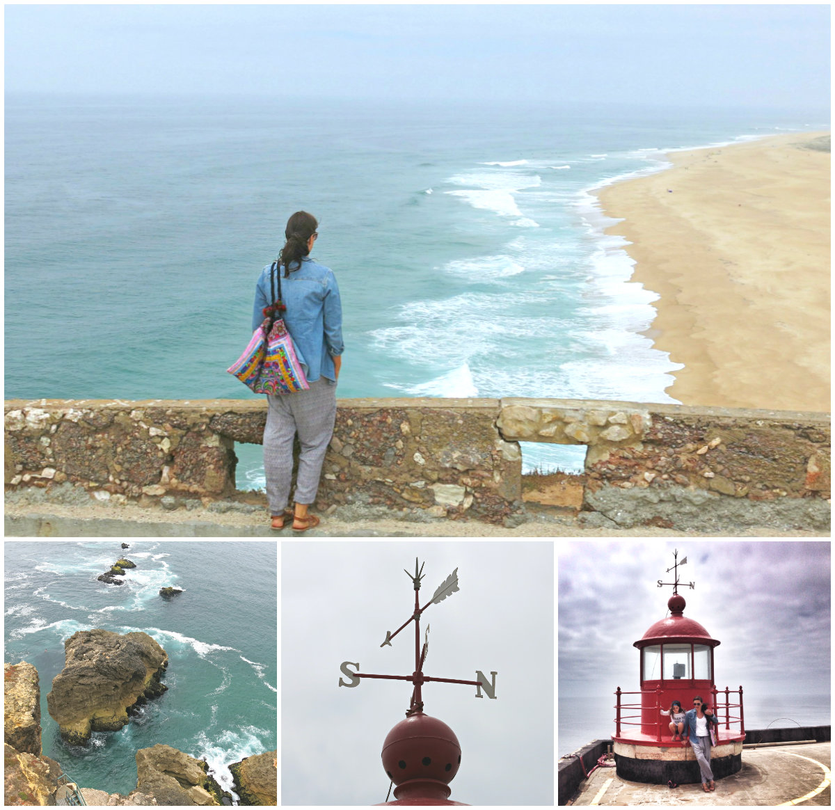 Portugal-Roadtrip-Nazare-Kollage