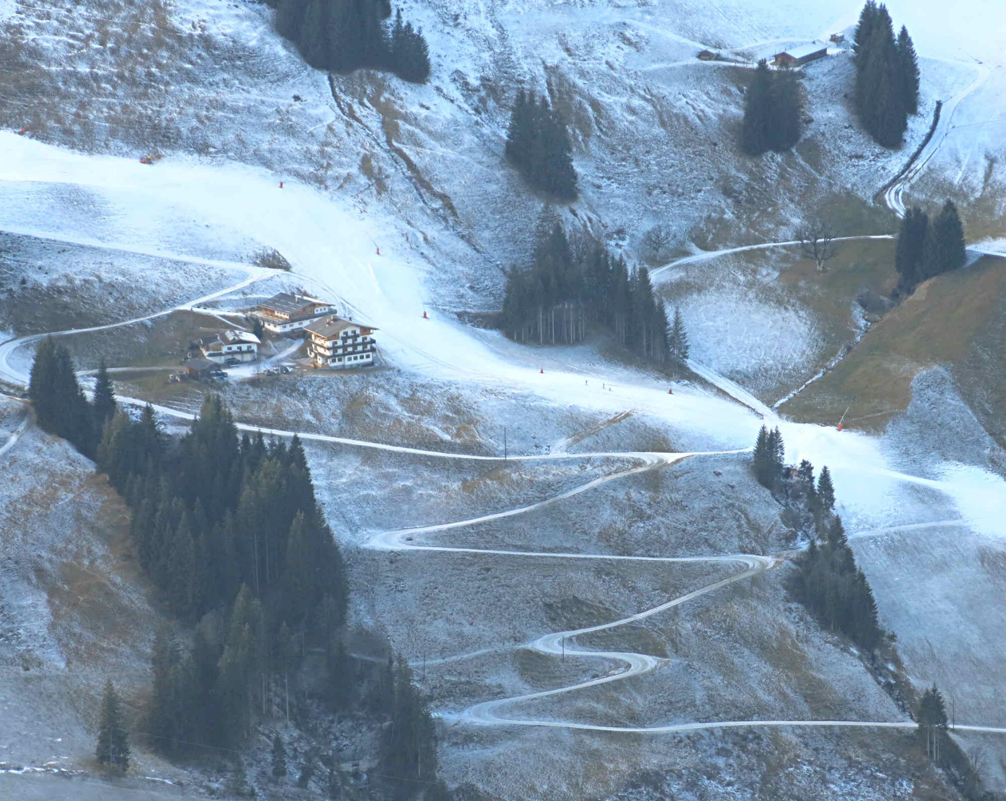 Saalbach-Hinterglemm-Skigebiet