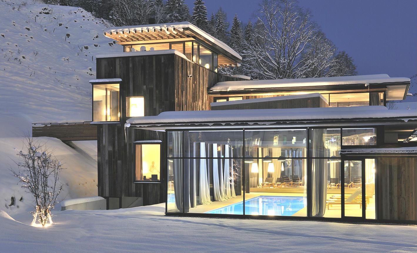 Hotel-WIESERGUT-Hinterglemm-Außenansicht-Winter_Copyright Günter Standl