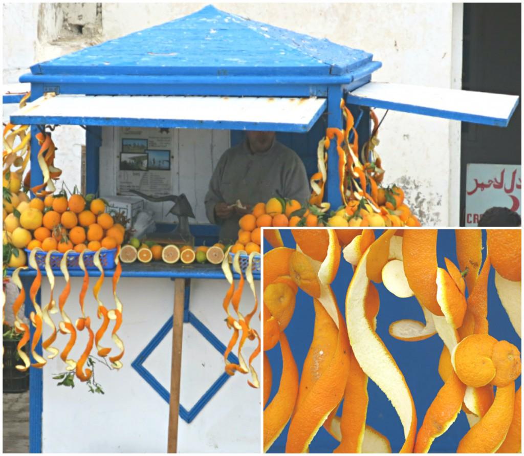 Essaouira-Marokko-Orangen