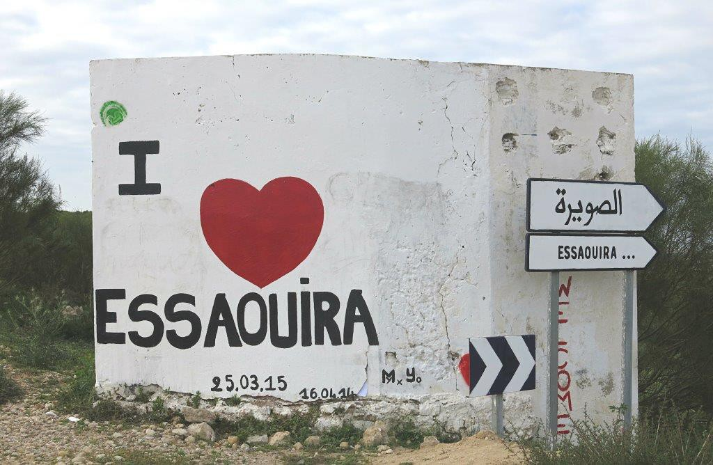 Marokko-Roadtrip-Essaouira-Schild