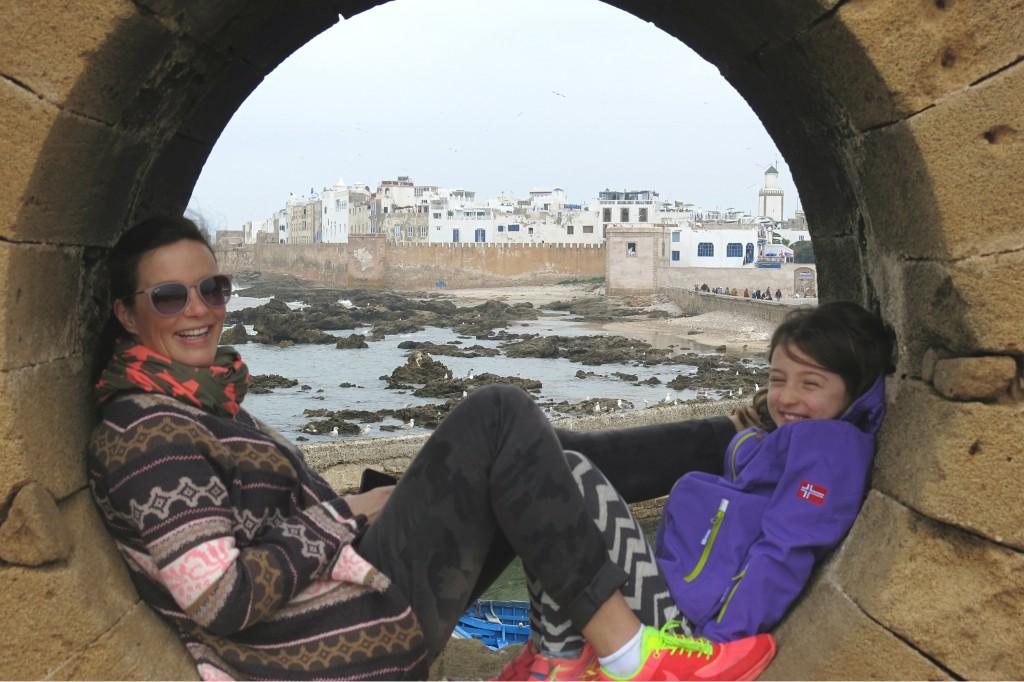 Marokko-mit-Kind