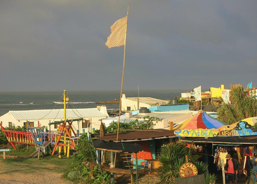 Uruguay-Cabo-Polonio-Village-Gewitterstimmung