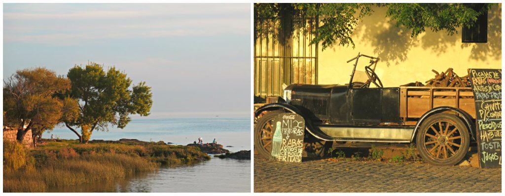 Uruguay-Reise-Colonia-del-Sacramento-Abendsonne