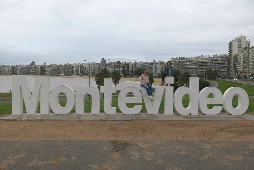 Uruguay-Reise-Montevideo-Schriftzug
