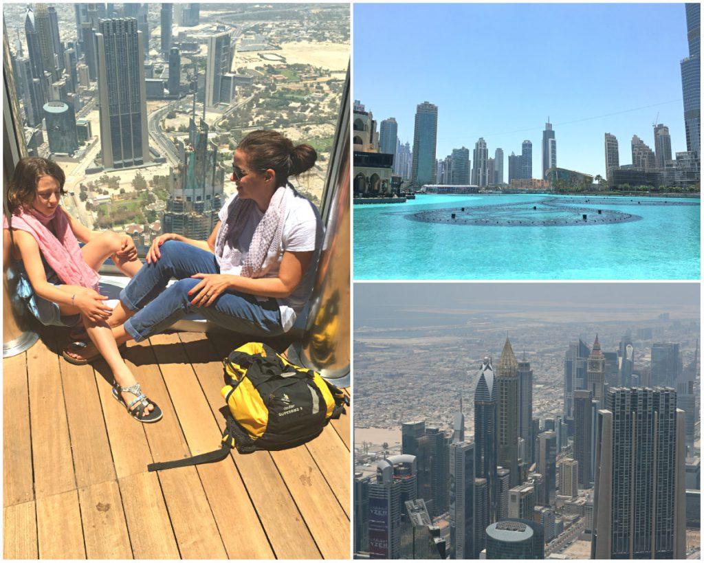 Dubai-mit-Kind-Burj-Khalifa-Kollage