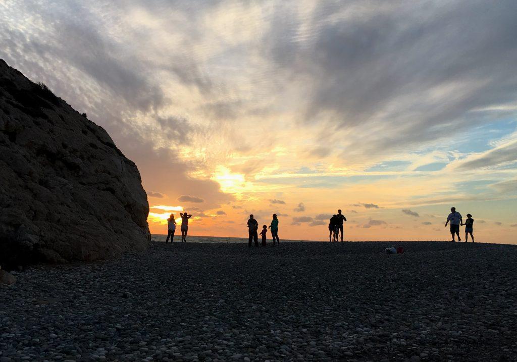zypern-2016-pafos-petra-tou-romiou-sonnenuntergang