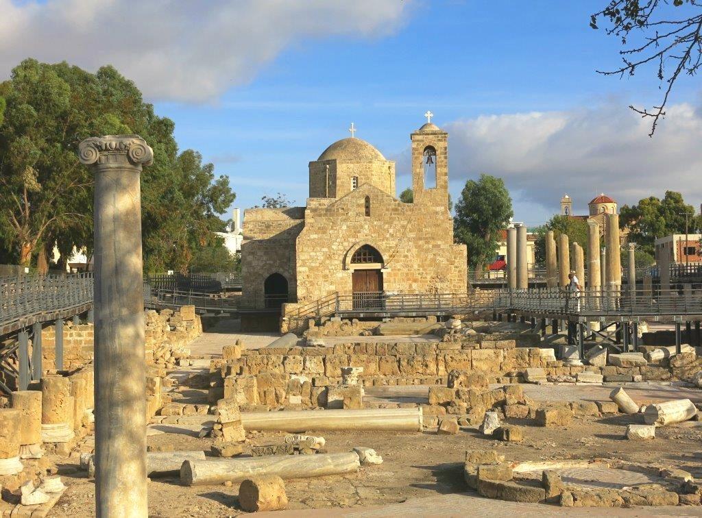 zypern-2016-paphos-chrysopolitissa-basilika-paulussaeule