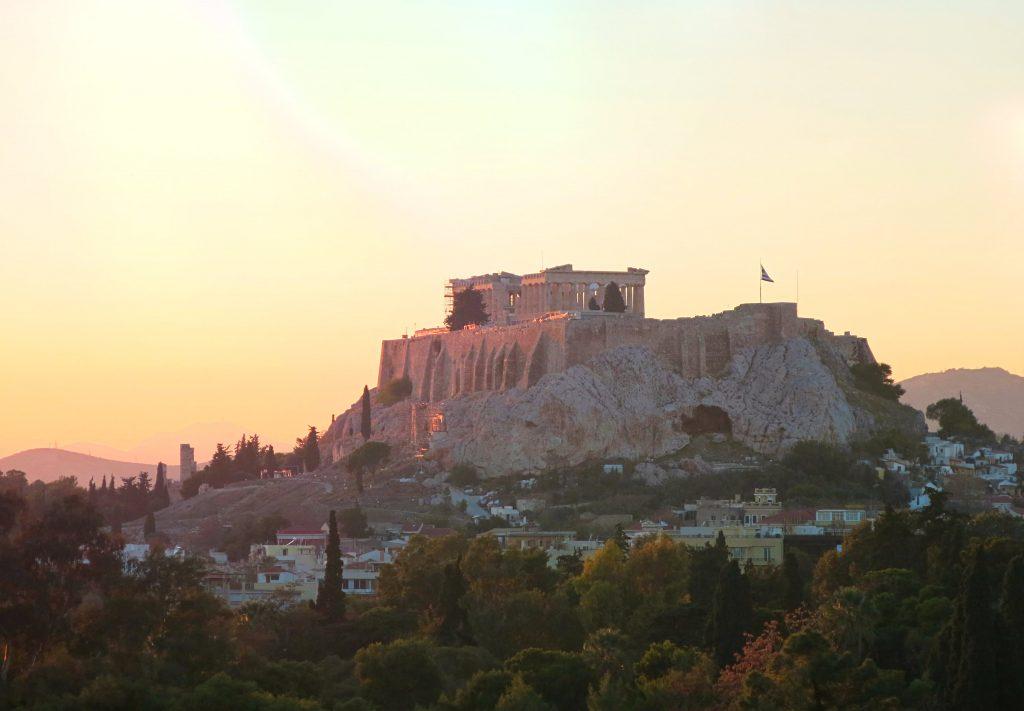 athen-reisetipps-akropolis-sunset