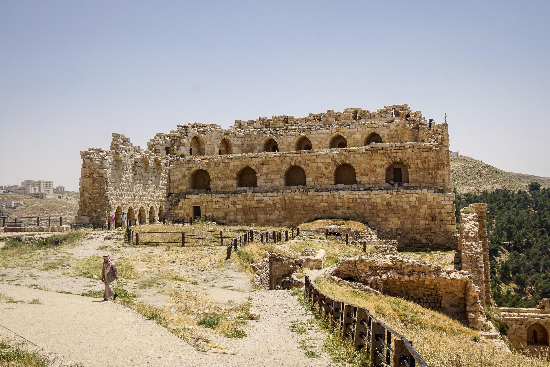 Jordanien-mit-Kind-Karak-Festung