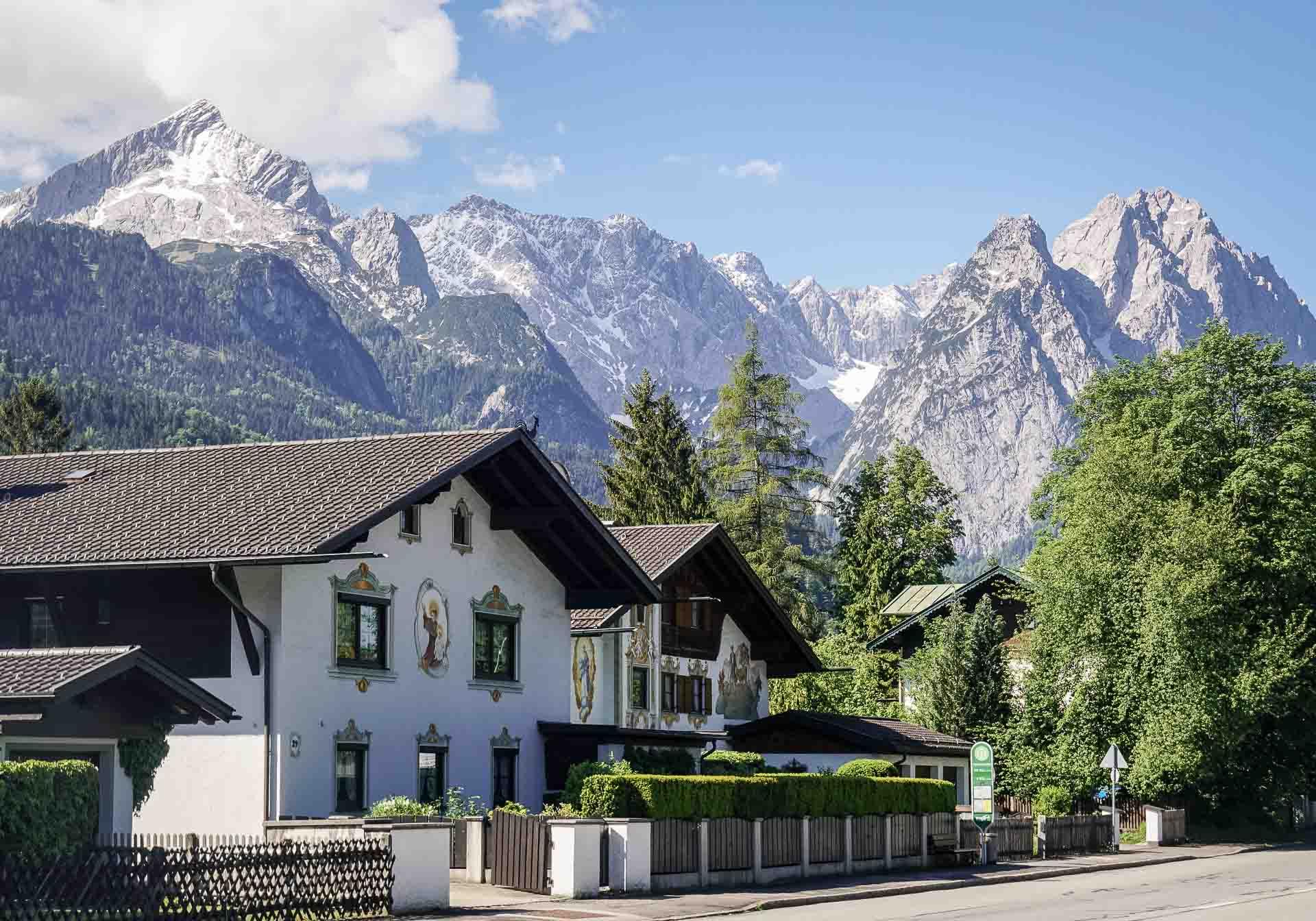 Quartier-Lodge-Garmisch-Partenkirchen-Aussicht
