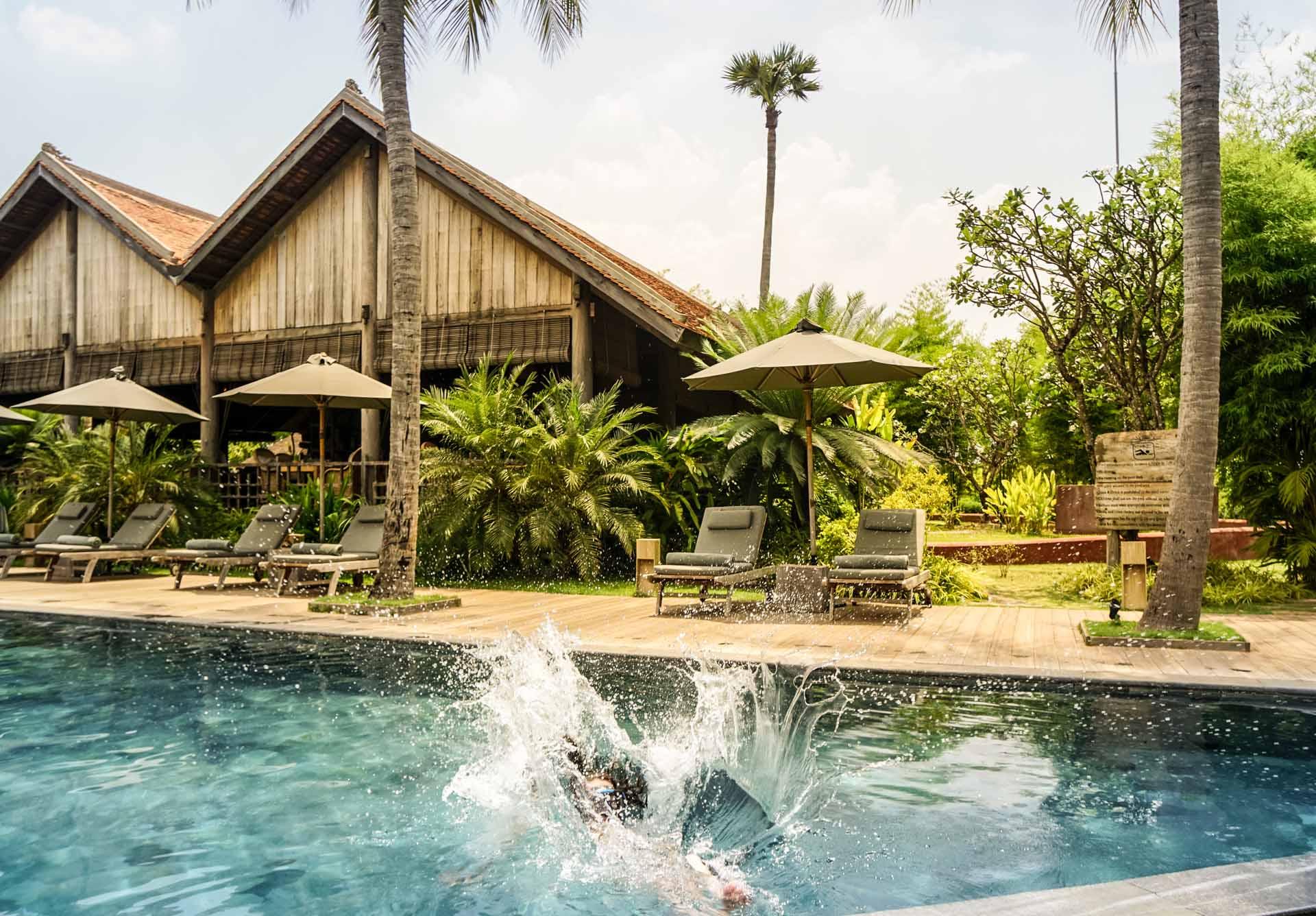 Hotel Phum Baitan Siem Reap Pool