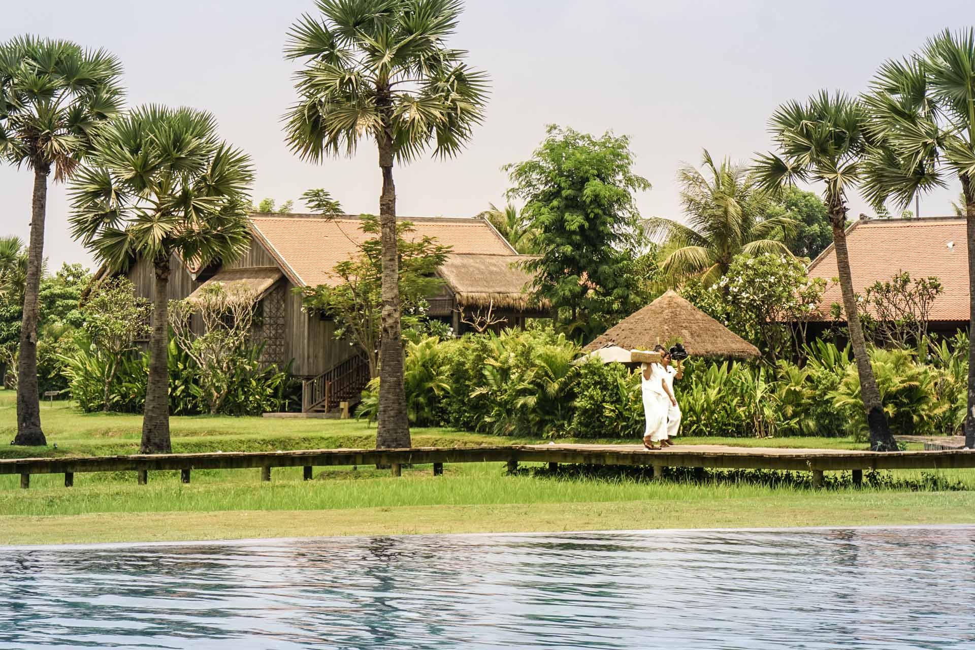 Hotel Phum Baitang Siem Reap View