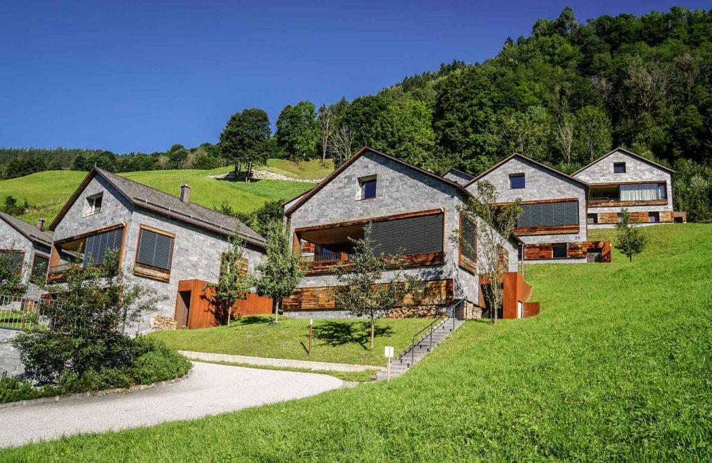 Ferienhaus-Barmberg-Wildkogel-Auf-da-Leitn-8-Häuser